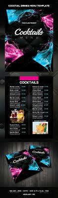 drink menu template free best 25 menu templates ideas on food menu template