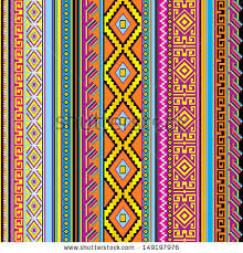 striped seamless background mexican ornament stock illustration