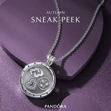 locket necklace pandora images Sparkling pandora floating locket jpg