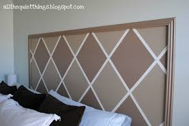 painted headboard all the quiet things painted headboard