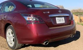 nissan maxima vs ford taurus review 2013 nissan maxima sv will still surprise you tflcar com
