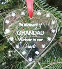 in memory grandad memorial engraved acrylic tree