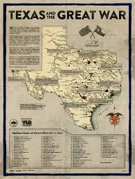 Texas Road Conditions Map Mapping World War I Activity In Central Texas Austin Found