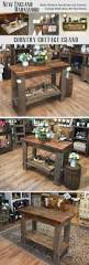 Rustic Modern Kitchen by Best 25 Rustic Kitchen Island Ideas On Pinterest Rustic