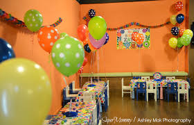 kids birthday party room at home interior designing