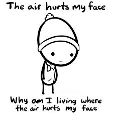 Why Meme Face - why i absolutely despise cold weather explained with memes