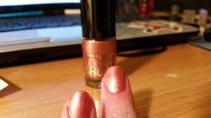 maybelline new york color show 205 petal plush my nail polishes