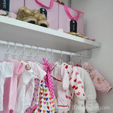 Closetmaid Shelftrack Hang Track An Organized Baby Closet With Closetmaid Shelftrack Elite The