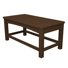 plastic rectangular outdoor table rectangular outdoor coffee table durable solid recycled plastic by