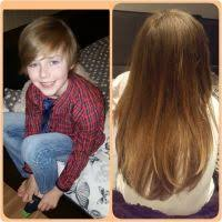 how to grow out boys hair despite being called a girl little boy continues to grow out hair