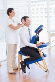 chaise bureau massante pause énergie sur chaise en entreprise