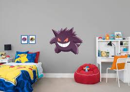 gengar wall decal shop fathead for pokémon decor
