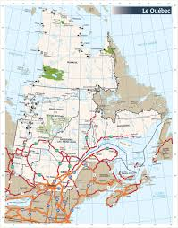 Map Of Canada With Cities by Quebec Road Map