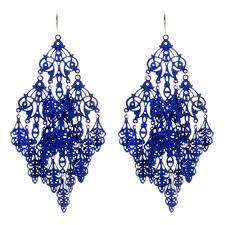 blue chandelier earrings gabrielle earring shop amrita singh jewelry