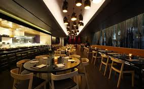 decorating best restaurant architecture design with round table