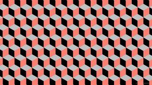 wallpaper red 3d cubes grey black 000000 fa8072 c0c0c0 120 342px