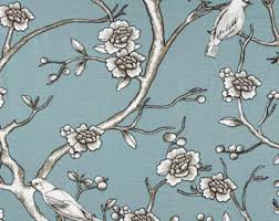 Dwell Shower Curtain - dwell studio toile etsy