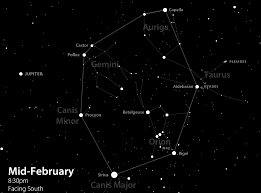 Dark Sky Map Observing The Winter Circle