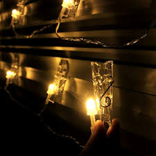 string lights with picture clips 30 led photo clips string lights indoor outdoor christmas lights
