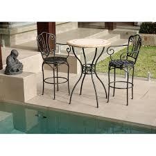 Aluminium Bar Table Cast Aluminium Bar Stool With Cushion Nassau Collection