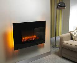 Wall Mounted Electric Fireplace Distinctive Black Electric Fireplace U2014 Home Fireplaces Firepits