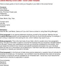 sample law firm cover letter sample cover letter for a legal