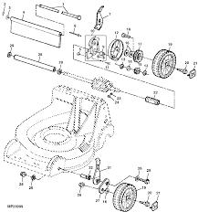 john deere 14sb push lawn mower parts diagram tractor parts