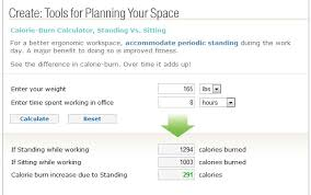 how many calories do you burn standing at your desk a lean journey a standup desk is lean literally