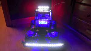 remote control car lights led strip lighting on remote control rc car light em up leds youtube
