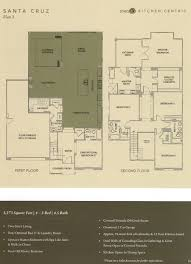 floor plan 3 at 1 channel island new homes in encinitas new home