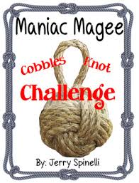 Challenge Knot Maniac Magee Cobble S Knot Activity By Mrs Tpt