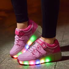 heelys light up shoes kids shoes with led light up children roller shoes heelys with