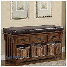 Bench With Baskets Storage Benches And Nightstands Elegant Black Entryway Bench With