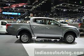 mitsubishi truck 2015 2015 mitsubishi triton side at the 2014 thailand international