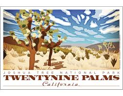 california posters vintage poster design by jenn david design