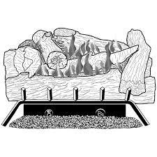 Desa Ventless Fireplace - hd24pr desa vent free gas log fireplace