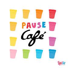 image pause café bureau la pause café latte sans sucre