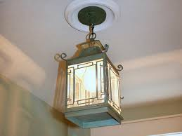 Installing A Bathroom Light Fixture by Replace Recessed Light With A Pendant Fixture Hgtv