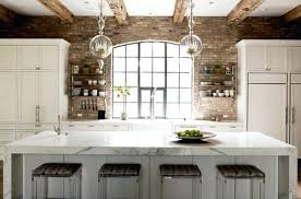 kitchen brick backsplash breathtaking brick backsplash kitchen brick veneer extraordinary
