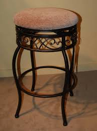 distressed wooden furnishing outdoor bar stool with black wooden