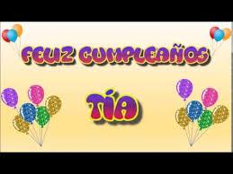 imagenes que digan feliz cumpleaños tia ana tarjeta animada de cumpleaños para tía youtube