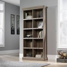 Oak Bookcases With Doors by Barrister Lane Tall Bookcase 414108 Sauder