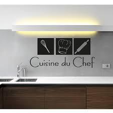 stickers pour cuisine d馗oration stickers muraux pour la cuisine sticker cuisine du chef ambiance