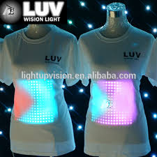 custom light up t shirts led display t shirt custom led shirts light up shirts buy