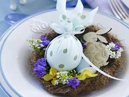 Easter Table Decorations Centerpieces by Easter Decorations Table Centerpieces Made As Nests Founterior