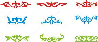 kazakh ornament 8 stock vector alex64 64421279