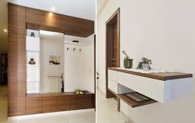 garderobe modern design wohnraum empfang objekte tischlerei plank