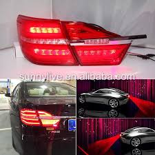 2015 toyota camry tail light 2015 year for toyota camry led rear light red color laser fog l