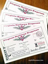 Virginia Railway Express Map by Holiday Season Capitol Momma
