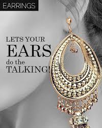 bengali earrings india s largest woman s fashion jewelry store online shreehari